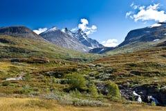 Norwegen - Bergblick Stockbild