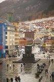 Norwegen, Bergen Lizenzfreies Stockfoto