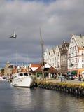 Norwegen Bergen Lizenzfreie Stockfotografie