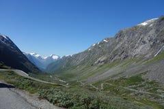 Norwegen - Berglandschaft Stockfotografie