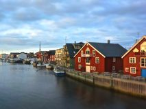 Norwegen bis zum Tag Lizenzfreies Stockfoto