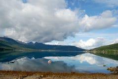 Norwegen-Fjord stockbild