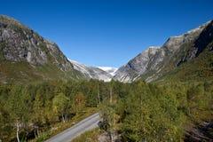 Norwegen - Gletscher Stockfoto