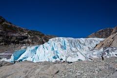 Norwegen - Gletscher Lizenzfreie Stockbilder