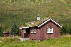 Norwegen - Gutshaus Lizenzfreies Stockfoto
