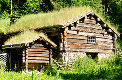 Norwegen-Haus stockfoto