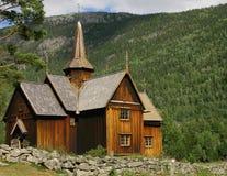 Norwegen - Kirke Stockbilder
