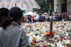 Norwegen nach Angriffen Stockbilder
