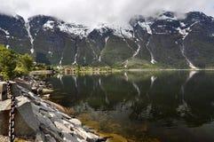Norwegen, norwegischer Fjord Lizenzfreie Stockfotos