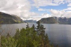 Norwegen, norwegischer Fjord Stockfotos