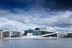 Norwegen- - Oslo-Oper Stockbilder