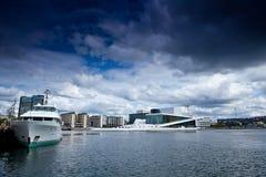 Norwegen- - Oslo-Oper Lizenzfreie Stockfotografie