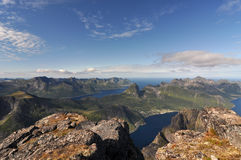 Norwegen, Senja Stockbilder