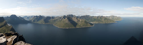 Norwegen, Senja Stockfotos
