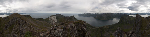 Norwegen, Senja Stockfoto