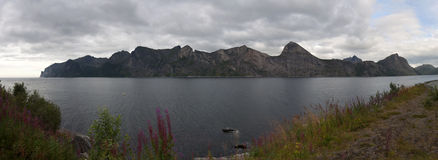 Norwegen, Senja Lizenzfreie Stockfotos