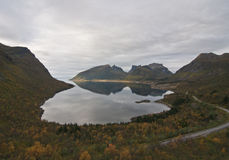 Norwegen, Senja Stockfoto