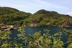 Norwegen - Sogne stockfoto