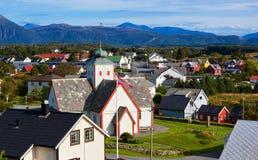 Norwegen-Stadt stockbild