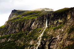 Norwegen-Wasserfall Stockbild