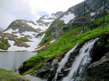 Norwegen-Wasserfall Lizenzfreie Stockfotos