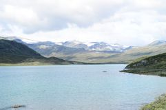 norwegen Wo der Fjord anfängt stockbild