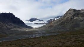 Norwegia Dokąd od przychodzić rzeki obraz royalty free