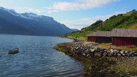 Norwegia fiord Obraz Stock