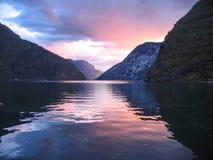 Norwegia fjords zdjęcie stock