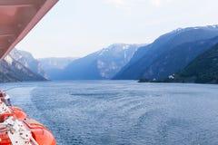 Norwegia fjords Obrazy Royalty Free