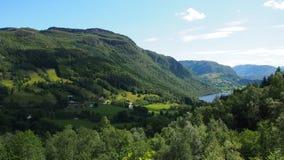 Norwegia góry Obrazy Stock