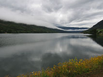 Norwegia góry i krajobraz Zdjęcia Royalty Free