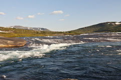 Norwegia, Hardangervidda Zdjęcie Stock