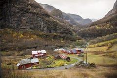 Norwegia, kraj w jesieni, Zdjęcie Royalty Free