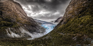 Norwegia Krajobraz Zdjęcie Stock