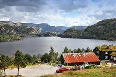 Norwegia krajobraz Zdjęcia Stock