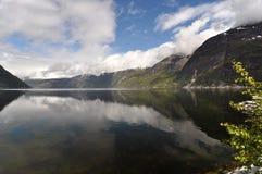 Norwegia, Norweski fjord Obrazy Royalty Free