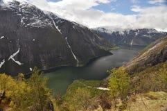Norwegia, Norweski fjord Zdjęcia Royalty Free