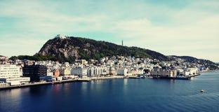 Norwegia port Zdjęcia Stock