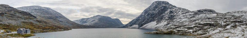 Norwegia średniogórze Zdjęcie Royalty Free