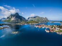 Norwegia Reine obraz stock