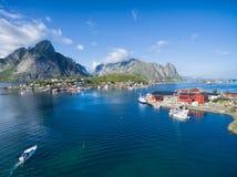 Norwegia Reine zdjęcia stock