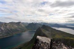 Norwegia, Senja Obrazy Royalty Free