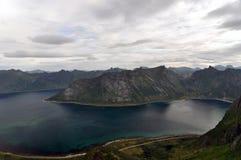 Norwegia, Senja Fotografia Stock
