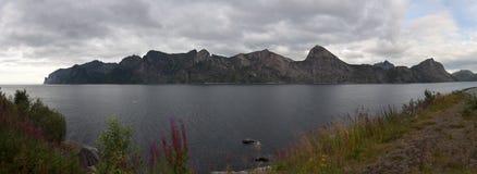 Norwegia, Senja Zdjęcia Royalty Free