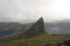 Norwegia, Senja Zdjęcie Royalty Free