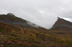 Norwegia, Senja Zdjęcia Stock