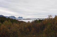 Norwegia, Senja Obraz Stock