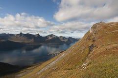 Norwegia, Senja Obraz Royalty Free