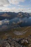 Norwegia, Senja Obrazy Stock
